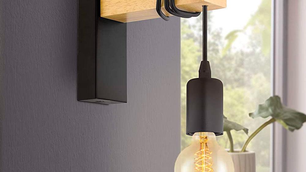 dettaglio lampada a parete