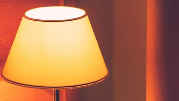 dettaglio lampada vintage