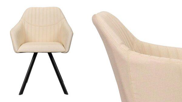 sedia di design in tessuto