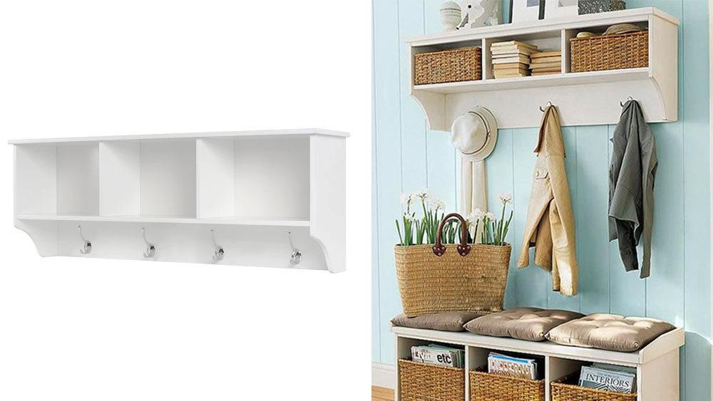 mensola di design per il soggiorno