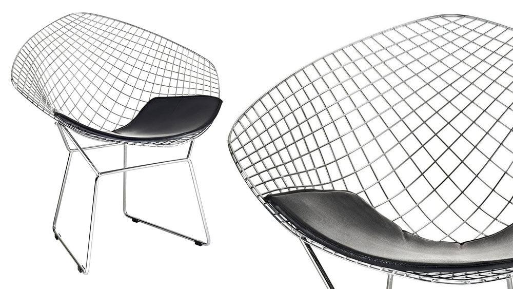 esempio sedia di design con dettaglio seduta