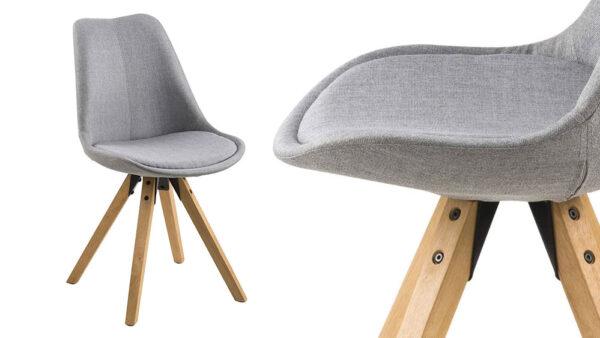 sedia di design anni 70 in plastica