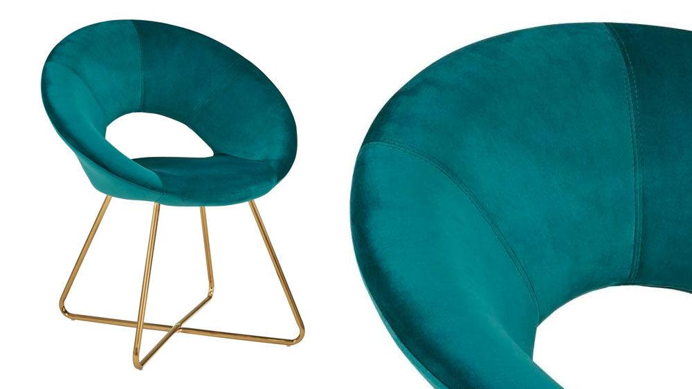 sedia anni 50 per sala da pranzo