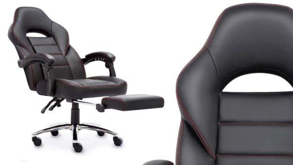 sedia ufficio nera girevole