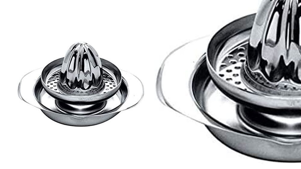 Spremiagrumi manuale di design in acciaio