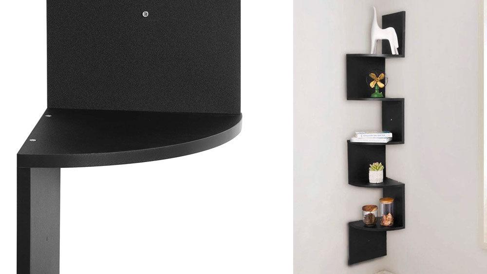 mensole di design moderne colore nero