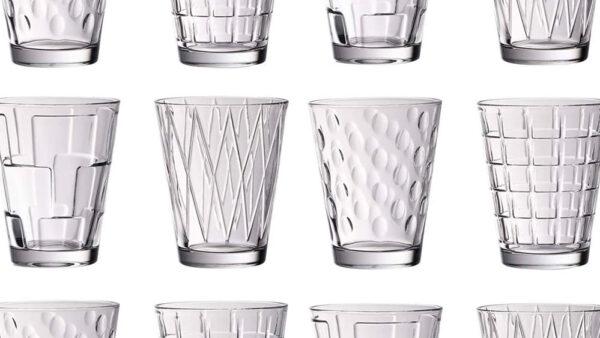 Bicchieri di design per acqua