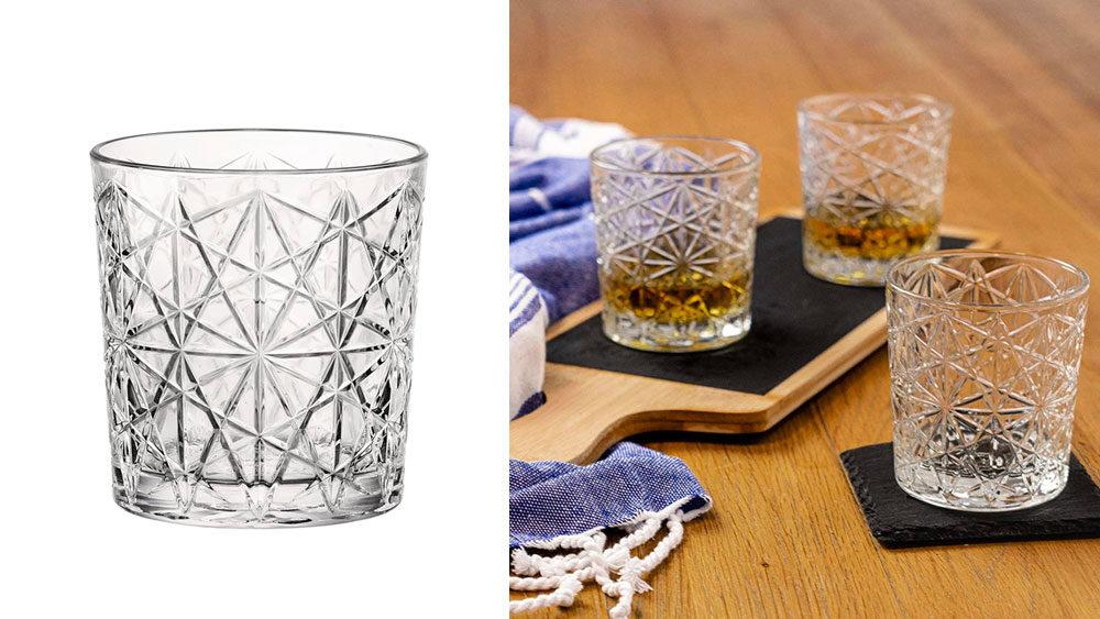 bicchieri vintage decorati