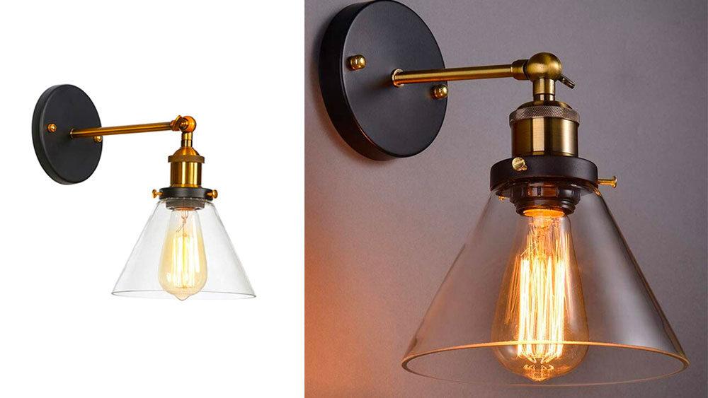 lampada vintage industrial