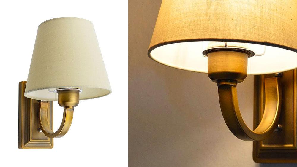 lampade vintage ottone