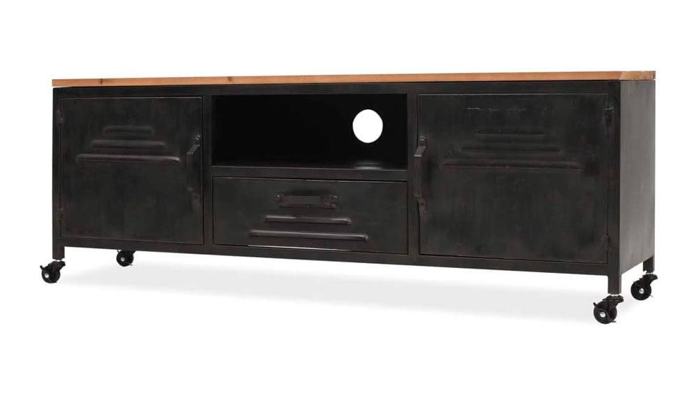 portatelevisore industrial vintage